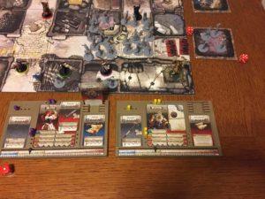 Gli eroi di Zombicide Black Plague sono circondati dagli zombi