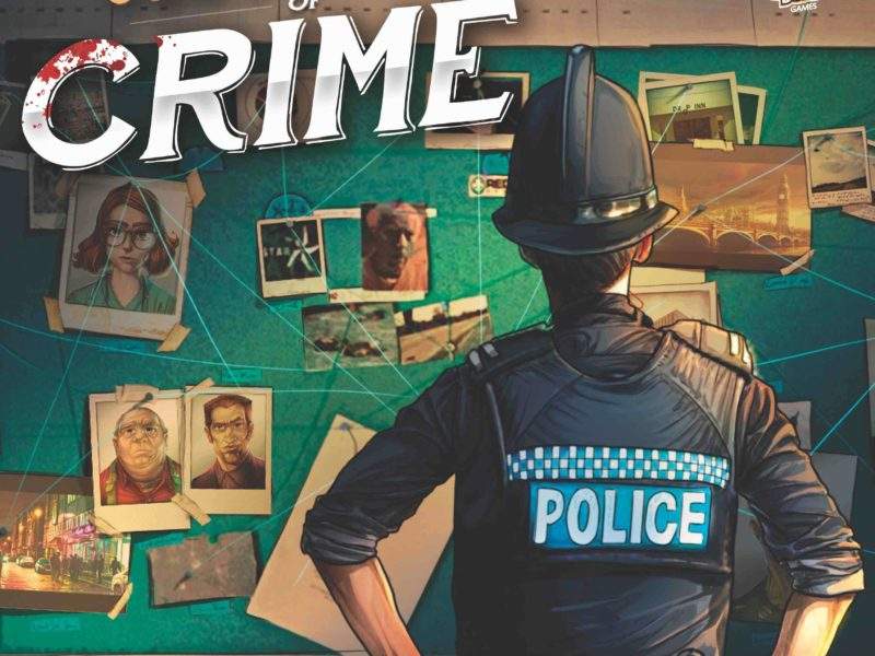 Il gioco da tavolo investigativo Chronicles of Crime