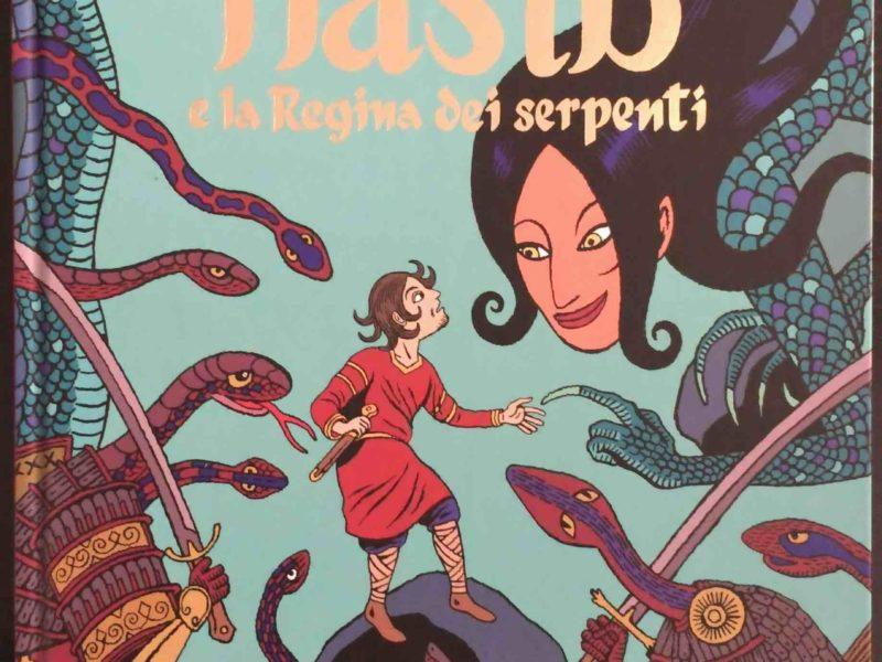 La copertina di Hasib e la regina dei serpenti
