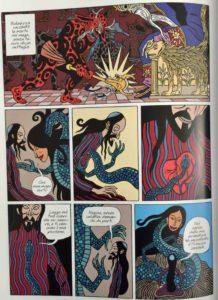 Le illustrazioni di David B. per Hasib e la regina dei serpenti