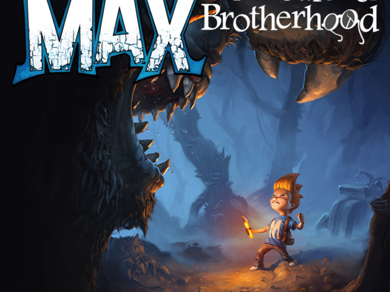 L'artwork per Max and the Curse of Brotherhood Switch Cover