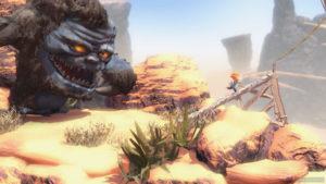 Un terzo screenshot di Max and the curse of brotherhood per nintendo switch