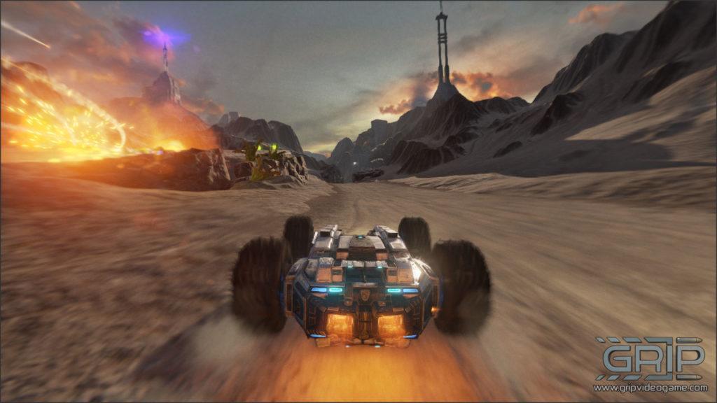 Uno screenshot di Grip per PS4
