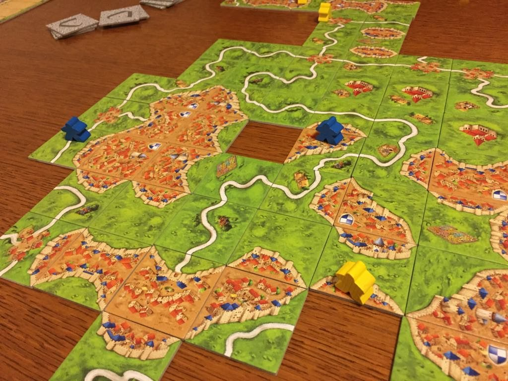 Carcassonne in gioco