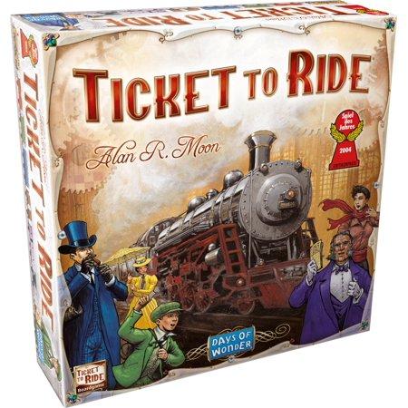 La confezione del gioco da tavolo Ticket to Ride